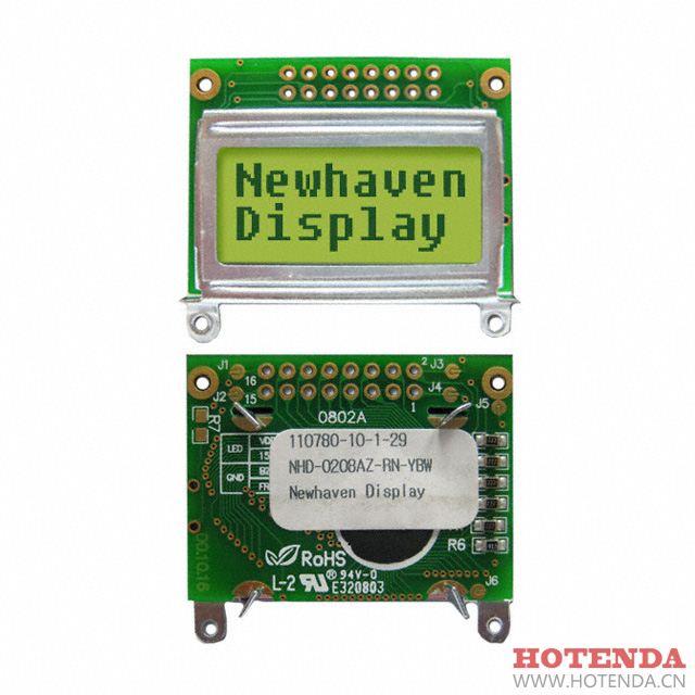 NHD-0208AZ-RN-YBW