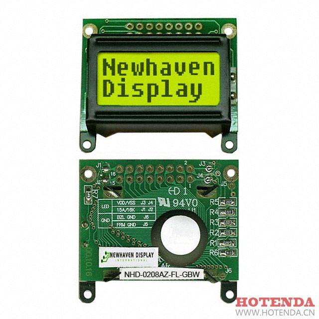 NHD-0208AZ-FL-GBW