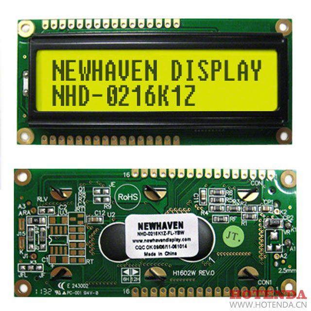 NHD-0216K1Z-FL-YBW