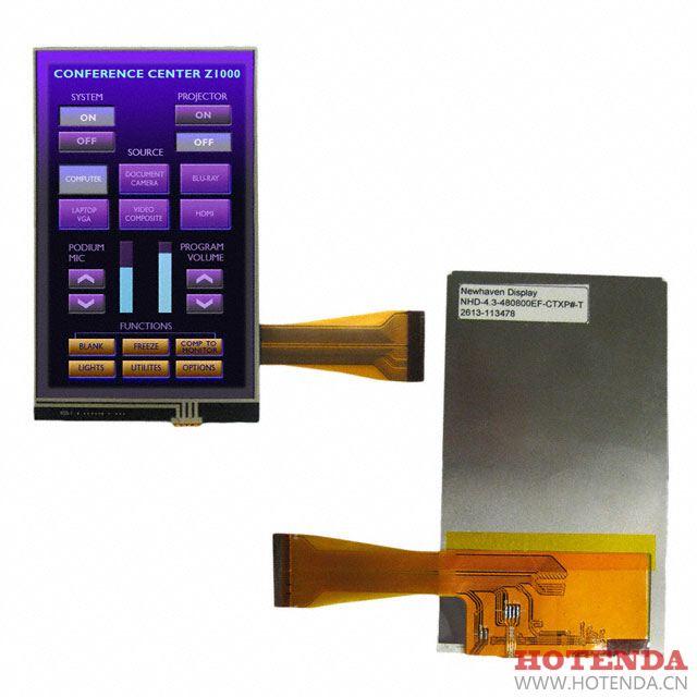 NHD-4.3-480800EF-CTXP#-T