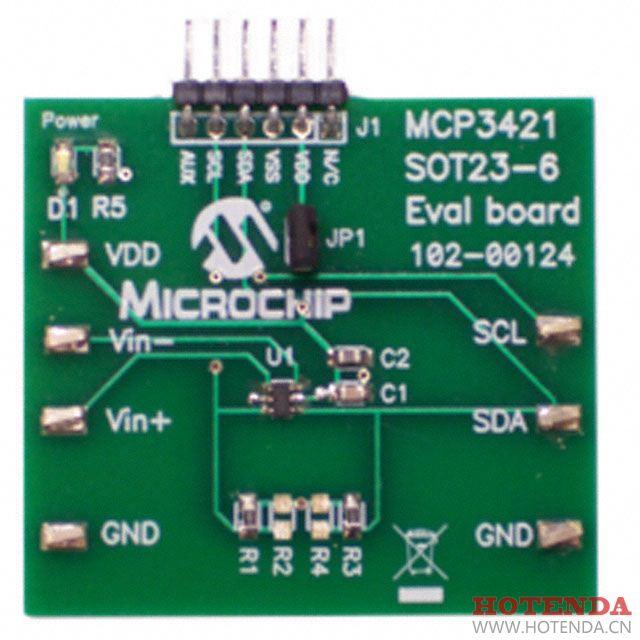 MCP3421EV